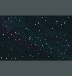 space starry background vector image vector image