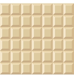 White Tile Chocolate Seamless Background vector image