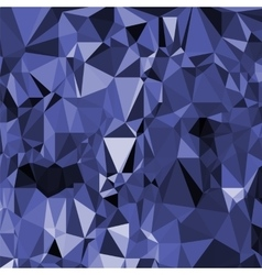 Abstract digital polygonal blue background vector