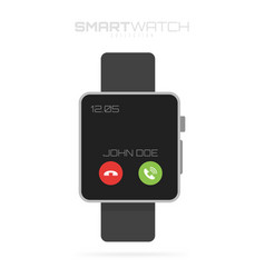 Smart watch isolated on white background for your vector