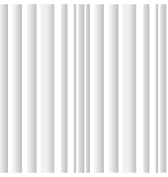 white 3d seamless pattern vector image