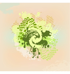 Colorful abstract stain vector