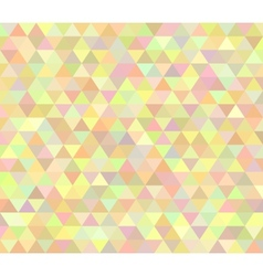Pastel colored abstract polygon design vector