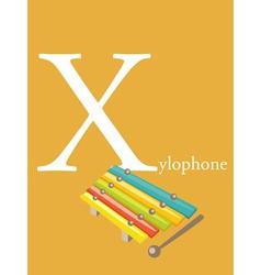 Colourful Alphabet Card vector image vector image