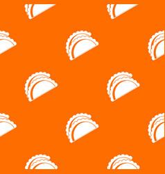 Empanadas de pollo pattern seamless vector