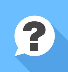 question icon vector image vector image