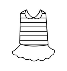 typical french costume icon vector image