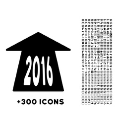 2016 Future Road Icon vector image vector image