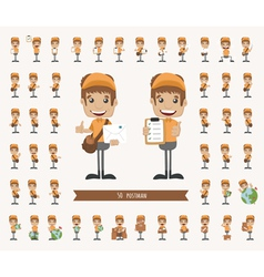 Set of postman character vector