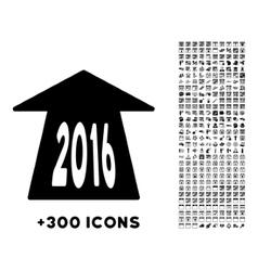 2016 Future Road Icon vector image