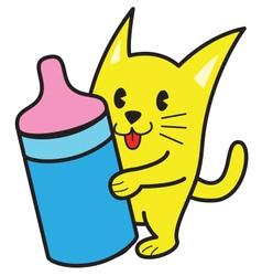 Baby Cat vector image