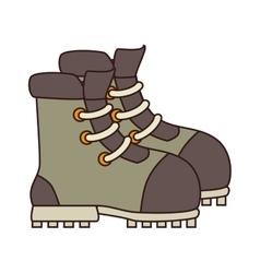 Boot footwear icon design vector