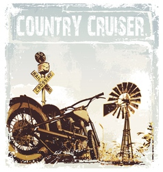 Country cruiser vector