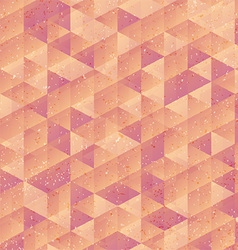 Grunge low poly design vector image vector image
