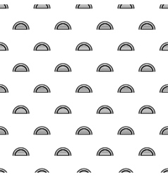 Hangar pattern simple style vector
