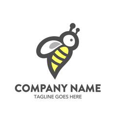 Bee logo-10 vector