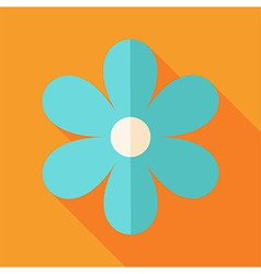Big flower vector