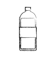bottle water isolated icon vector image