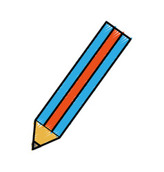 Pencil utensil icon vector