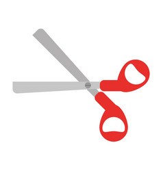 scissors tool school icon vector image vector image