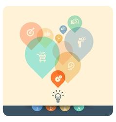 Abstract Design Idea Concept vector image