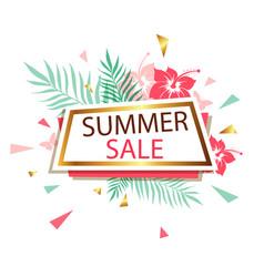 banner for summer sale vector image