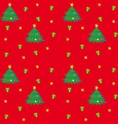 Christmas Tree Texture vector image