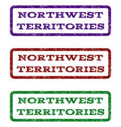 Northwest territories watermark stamp vector