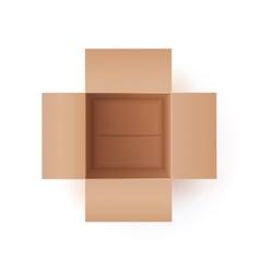 Of Cardboard Box vector image vector image