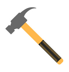 hammer icon construction working tool vector image
