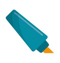 Marker write school utensil vector