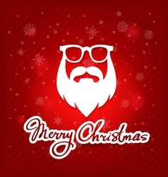 creative graphic poster for your design Christmas vector image