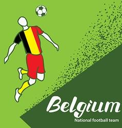Belgium 4 vector