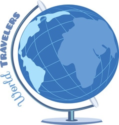 World travelers vector