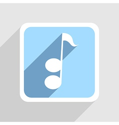 blue icon on gray background Eps10 vector image vector image