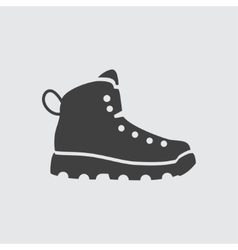 Boot icon vector image vector image