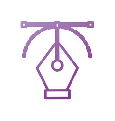 Graphic design pen tool curve control vector