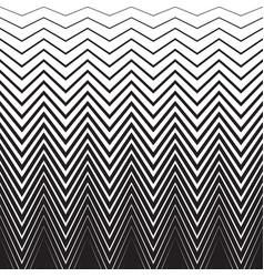 halftone zig zag pattern background zigzag vector image vector image