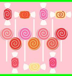 Taffy candy vector