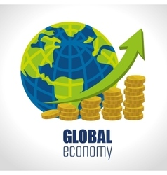 Global economymoney and business vector