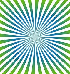 Green blue ray design background vector