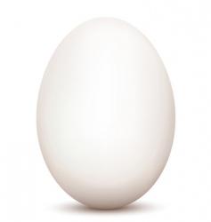 an egg vector image