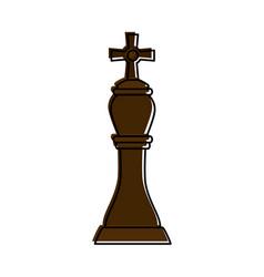 bishop chess piece icon image vector image vector image