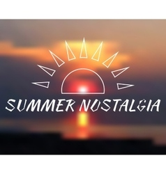 blurred background summer vector image