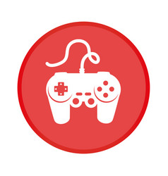 game control isolated icon vector image vector image