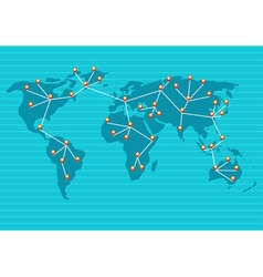 Network map 01 vector