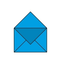 Envelope message email icon vector