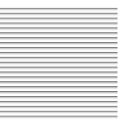Horizontal white blinds design background window vector image