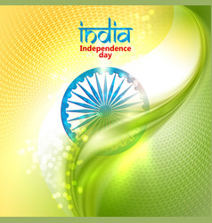 Indian independence day concept background with vector