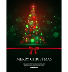 Merry christmas 2015 celebration concept with xmas vector
